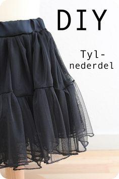 LaRaLiL: Skirt in soft tulle - DIY