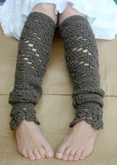 Lacy Leg Warmers -