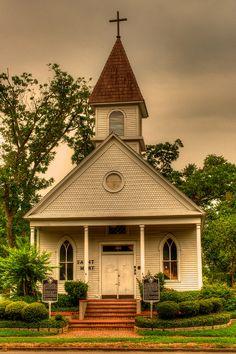 HDR Church - League City, TX by jfahler on Flickr.