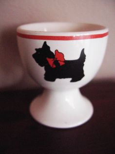 SCOTTIE EGG CUP