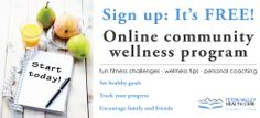 Teton Valley Health Care is offering this #free online #community #wellness program to 300 people in and around #TetonValley! Sign up and begin your #wellness journey today! http://www.tvhcare.org/community-outreach/community-wellness/ #healthad