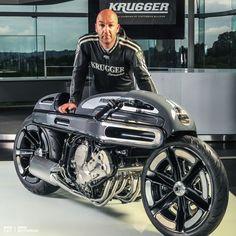 Krugger BMW K1600 inline six custom