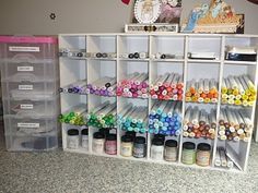 Copic marker storage made from FoamCore board