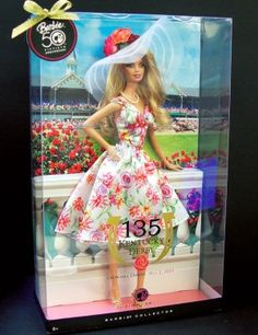 Kentucky Derby & Mattel Team Up for Special Edition Kentucky Derby Barbie Doll