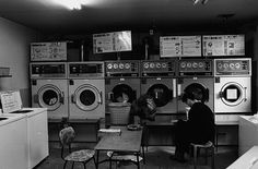 Coin Laundry in Tokyo