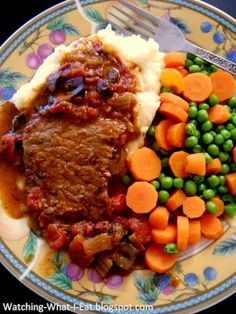classic swiss steak ~ a great meal for turning a cheap cut of meat into a wonderful meal!