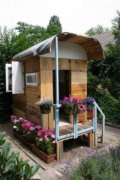 backyard gypsy caravan playhouse