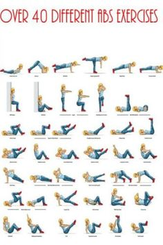 over 40 abs exercises