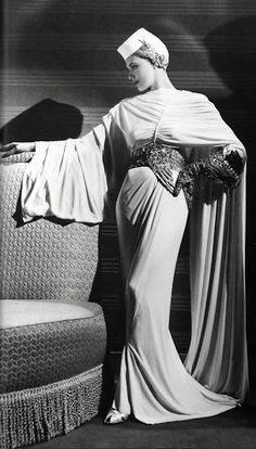 Adrian Costume - 1939 - by Adrian Adolph Greenberg (American, 1903-1959) - 'The Women' - Director: George Cukor - @~ Mlle
