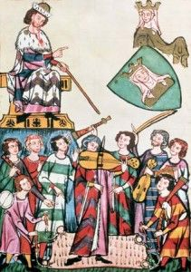 The Image of the Jongleur in Northern France Around 1200. A wandering minstrel, poet, and/or entertainer in medieval England and France, before jesters. Considered of low class.  Jean Renart, also known as Jean Renaut, was a Norman trouvère or troubadour from the end of the 12th century and the first half of the 13th century to whom three works are ascribed. Nothing else is known of him or his life. He is praised for his realism and his psychological insight.Described his role this way:      ...