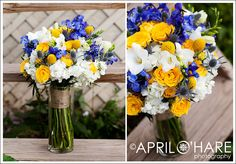 yello Chrysanthemum with blue Wedding Bouquet | ... Blue Hydrangea And Yellow Wedding Bouquets , Blue Wedding Bouquets