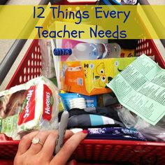 12 things every teacher needs