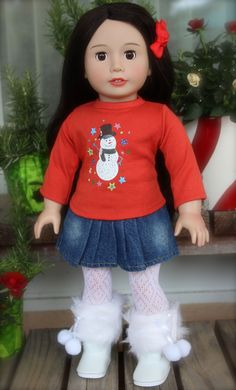 Visit Our Fits American Girl Doll Christmas Store at www.harmonyclubdolls.com Harmony Club Dolls 18 inch Doll Clothes and 18 inch Doll shoes fit American Girl 18 inch Dolls. We also offer our own exclusive Harmony Club Dolls Brand 18 inch Dolls.