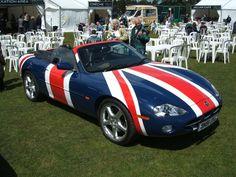 Jaguar XK8 - groovy, baby!