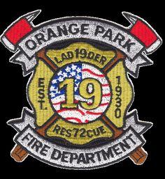 Orange Park Fire Department Patch