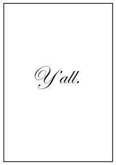 The Southern Proper Noun