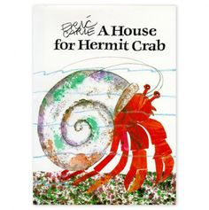 a house for hermit crab, houses, book, hermit crabs