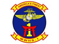 "Marine Wing Headquarters Squadron 1, Camp Butler Marine Corps Base Okinawa Japan. ""America's Finest"""