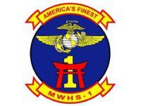 "Marine Wing Headquarters Squadron 1, Camp Butler Marine Corps Base Okinawa Japan. ""America's Finest"""