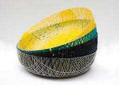 Resin-Soaked Yarn Bowls                        Gotta do now!