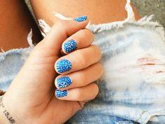 Greek tile nails.