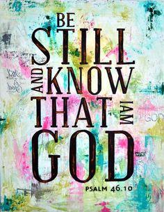 Psalm 46:10 <3