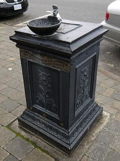 old drinking fountains