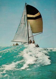 bon voyage, sailboats, vintage photos, the wave, the ocean, sail boats, yacht, sea, sail away