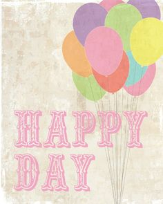 happy day!!