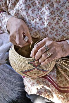 Yupik: Basket making  http://www.alaskanative.net/en/main_nav/education/culture_alaska/yupik/