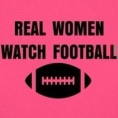 real women watch football