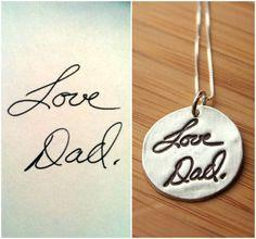 Signature pendants