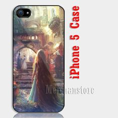 Vintage Disney Tangled Custom iPhone 5 Case Cover