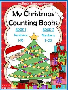 My Christmas Counting Books (Numbers 1-10 & 11-20)