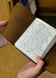 Cute idea! Write love letters to him in a journal throughout the engagement and give it to him on wedding day