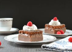 Magic Chocolate Custard Cake | Serena Bakes Simply From Scratch