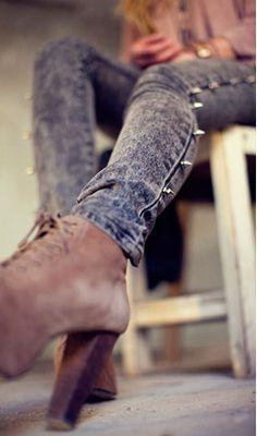 #spike #spikes #stud #studs #fashion #jeans #denim