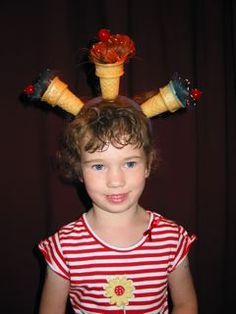 Crazy Hair Day on the road | Barney Saltzberg Noodlings crazi hair, crazy hair days, ice cream cones