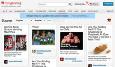 Minglewing, a Pinterest for discussions.