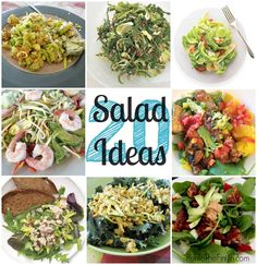 20 Easy At Home Salad Ideas