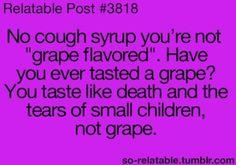 Not grape.
