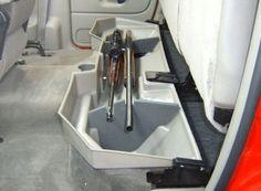 Vehicle Weapon Amp Hidden Storage On Pinterest Gun Storage