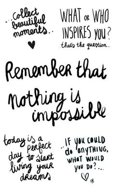 Nothing is impossible. <3 #edrecovery #hope #inspiration