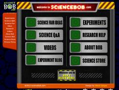 ScienceBob.com website - great resources for science teachers! Loads of experiments and information!