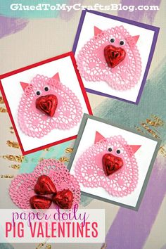 Paper Doily Pig Vale