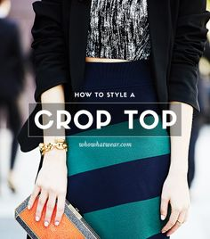 Yes, everyone can wear crop tops! // #Fashion #Style #Tips
