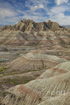Badlands National Park, South Dakota; photo by Timothy Johnson