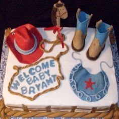 Baby Cowboy Party Supplies | Unique Baby Shower Ideas For Boys - Best Baby Shower Themes For Boys ...