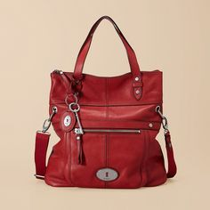 fashion, red purs, women bags, style, accessori, fossils, leather bags, women's handbags, purses