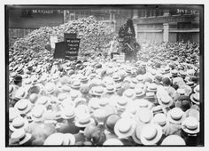 1914: Anarchists Rally New York